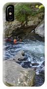 Kayaking Baby Falls IPhone Case