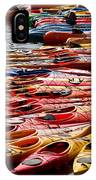 Kayaks At Rockport IPhone Case
