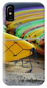 Kayaks Stacked IPhone Case