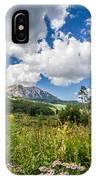 Kebler Pass Meadow IPhone Case