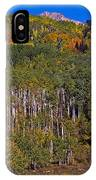 Kebler Pass Panorama IPhone Case