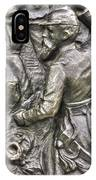 Keep Moving - Charge Of The 106th Pa Volunteer Infantry To The Emmitsburg Road Detail-a Gettysburg IPhone Case