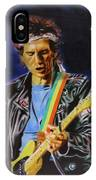 Keith Richards Of Rolling Stones IPhone Case