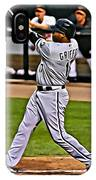 Ken Griffey Jr Painting IPhone Case