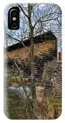 Kennedy Covered Bridge - Chester County Pa IPhone Case