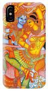 Kerala Fresco Mural IPhone Case