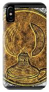 Kerosene Lamp - Brass Etching IPhone Case