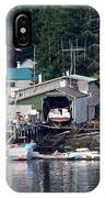 Ketchikan Buildings With Character 1 IPhone Case