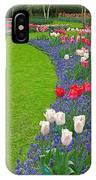 Keukenhof Gardens 52 IPhone Case