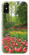Keukenhof Gardens 53 IPhone Case