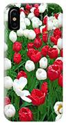 Keukenhof Gardens Panoramic 20 IPhone Case