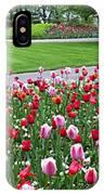 Keukenhof Gardens Panoramic 49 IPhone Case