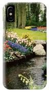 Keukenhof Tulip Gardens IPhone Case