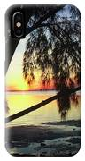 Key Biscayne Sunset IPhone Case