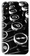 Key Strokes  IPhone X Case