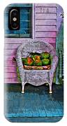 Key West Coconuts - Colorful House Porch IPhone Case