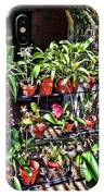 Key West Garden Club Pots IPhone Case