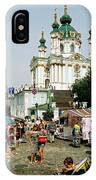 Kiev Andreyevsky Spusk1 IPhone Case
