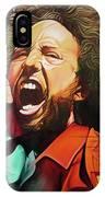 Zack De La Rocha-killing In The Name  IPhone Case