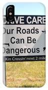 Kin Crossin' IPhone Case