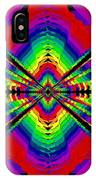 Kinetic Rainbow 44 IPhone Case