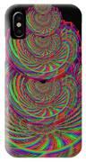 Kinetic Rainbow 67 IPhone Case