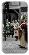 King Macbeth Of Scotland With The Bishop IPhone Case