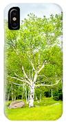 King Of The Birch IPhone Case
