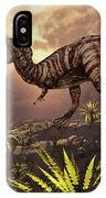 King Of The Dinosaurs.. A T.rex IPhone Case