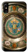 King's Plate IPhone Case