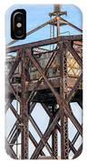 Kinnickinnic River Swing Bridge  4 IPhone Case