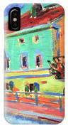 Kirchner's Houses In Dresden IPhone Case