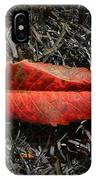 Kiss Of Leaf IPhone Case