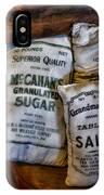 Kitchen - Food - Sugar And Salt IPhone Case