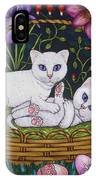 Kittens In A Basket IPhone Case