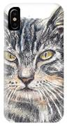 Kitty Kat Iphone Cases Smart Phones Cells And Mobile Cases Carole Spandau Cbs Art 337 IPhone Case