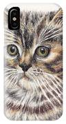 Kitty Kat Iphone Cases Smart Phones Cells And Mobile Cases Carole Spandau Cbs Art 343 IPhone Case