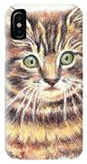 Kitty Kat Iphone Cases Smart Phones Cells And Mobile Cases Carole Spandau Cbs Art 350 IPhone Case