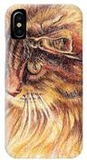 Kitty Kat Iphone Cases Smart Phones Cells And Mobile Cases Carole Spandau Cbs Art 352 IPhone Case