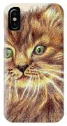 Kitty Kat Iphone Cases Smart Phones Cells And Mobile Phone Cases Carole Spandau 317 IPhone Case