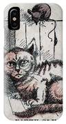 Kitty Sly IPhone Case