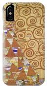 Klimt Expectation IPhone Case