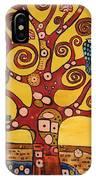Klimt Study Tree Of Life IPhone Case