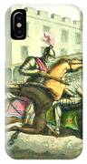 Knights Jousting IPhone Case