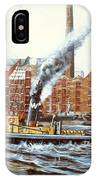 Knocker White Sailing Down River Past Rotherhithe IPhone Case