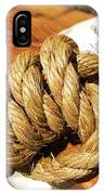 Knotted Hemp IPhone Case
