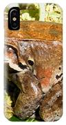 Knudsen Thin Toed Frog IPhone Case