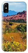 Kolob Terrace Road In Zion National Park-utah IPhone Case