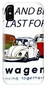 Kombis And Beetles Last Forever IPhone Case