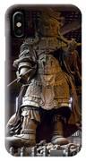 Komokuten Guardian King - Nara Japan IPhone Case